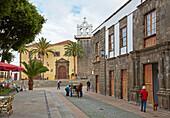 Ex-convento e iglesia de San Francisco de Ásis, Palacio Marqueses de Adeje y La Gomera at Garachico, Tenerife, Canary Islands, Islas Canarias, Atlantic Ocean, Spain, Europe