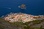 View at Garachico, Tenerife, Canary Islands, Islas Canarias, Atlantic Ocean, Spain, Europe