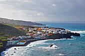 Las Aguas, Rocky coast at San Juan de la Rambla, Tenerife, Canary Islands, Islas Canarias, Atlantic Ocean, Spain, Europe