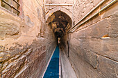 Passage in old ottoman mosque, Cairo, Egypt