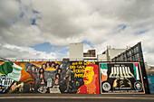 Nationalist mural, Belfast, Ulster, Northern Ireland, United Kingdom, Europe