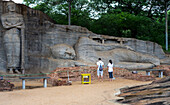 Buddha statues, Gal Vihara at Polonnaruwa, UNESCO World Heritage Site, Sri Lanka, Asia
