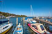 Marina, Kloster, Hiddensee island, Mecklenburg-Western Pomerania, Germany