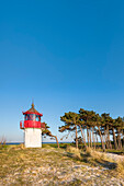 Lighthouse, Gellen, Hiddensee island, Mecklenburg-Western Pomerania, Germany