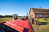 Fishing museum, Neuendorf, Hiddensee island, Mecklenburg-Western Pomerania, Germany