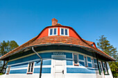 Fisher house by Max Taut, Vitte, Hiddensee island, Mecklenburg-Western Pomerania, Germany