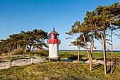Lighthous, Gellen, Hiddensee island, Mecklenburg-Western Pomerania, Germany