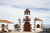 church, Las Tricias, village near Puntagorda, UNESCO Biosphere Reserve, La Palma, Canary Islands, Spain, Europe