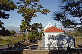 Ermita de la Virgen del Pino, pilgrimage church, near El Paso, UNESCO Biosphere Reserve, La Palma, Canary Islands, Spain, Europe