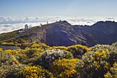 Observatorio del Roque de los Muchachos, astrophysical observatory, Teleskope, UNESCO Biosphere Reserve, La Palma, Canary Islands, Spain, Europe
