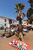 Mercadillo, Flea market, Plaza Sotomayor, Llano de Argual, Los Llanos de Aridane, UNESCO Biosphere Reserve, La Palma, Canary Islands, Spain, Europe