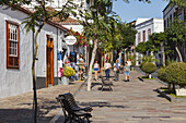 Avenida Real, old town, Los Llanos de Aridane, UNESCO Biosphere Reserve, La Palma, Canary Islands, Spain, Europe