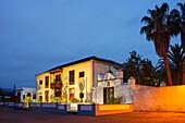 Manor house, 16th century, Plaza Sotomayor, Argual Abajo, Llano de Argual, near Los Llanos de Aridane, UNESCO Biosphere Reserve, La Palma, Canary Islands, Spain, Europe