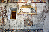Fresco in St. Prokulus near Naturns, South Tyrol, Italy