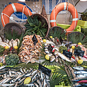 fish market, fruits de Mer, Ile de Re, Nouvelle-Aquitaine, french westcoast, france