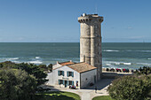 Phare des Baleines, lighthouse, Ile de Re, Nouvelle-Aquitaine, french westcoast, france