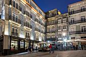 Largo Sao Domingos, Street Cafes, Restaurant Galeria do Largo, Porto, Portugal Porto, Portugal