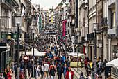 Rua de Santa Catarina, shopping zone, Porto , Portugal