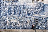 Do Carmo church, Azulejos, painted tiles, Porto, Portugal