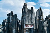 The Stone Forest, Shilin Yi Autonomous County, Yunnan Province, China, Asia, UNESCO World Heritage Site.