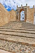 Medina Sidonia, Arco de la Pastora, Pueblos Blancos ('white towns') Route, Cadiz province, Andalusia, Spain.
