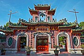 Entrance Gate to Fujian Assembly Hall (Phuc Kien). Hoi An Ancient Town, Quang Nam Province, Vietnam.