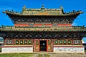 Western Dzuu Temple, Erdene Zuu monastery, Kharkhorin, Övörkhangai Aimag, Mongolia.
