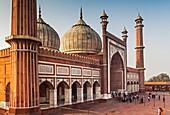Jama Masjid mosque, Delhi, India.