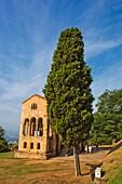 Church of St Mary at Mount Naranco, Santa Maria del Naranco, Roman Catholic Asturian pre-Romanesque architecture, Oviedo, Asturias, Spain