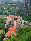 Roussanou Monastery at Meteora, Greece.