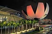 Singapore, Art Science Museum,.