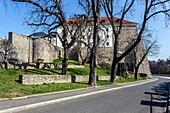 Gothic Castle, Kadan, Northern Bohemia, Czech Republic, Europe.