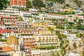 Positano, Amalfi coast, Salerno, Campania, Italy.