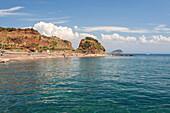 Turquoise sea, Cala Seregola, Capo Pero, Elba Island, Livorno Province, Tuscany, Italy