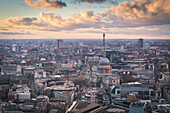 The St. Paul Cathedral. London city, London, United Kingdom