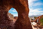 Lagomar museum, house of Omar Sharif in Lanzarote, Canary Island, Spain, Europe