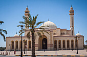 the al fateh grand mosque, the biggest mosque in bahrein, manama, kingdom of bahrain, persian gulf, middle east