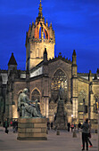 UK, Scotland, Edinburgh, St Giles' Cathedral