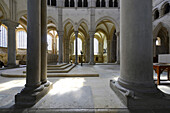 Europe, France, choir of the Abbey of Vezelay in Burgundy