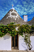 Italy, Apulia, Itria Valley, Alberobello, UNESCO World Heritage, Trulli neighborhood