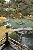 Japan, Kyoto, Shoren-in Temple, garden