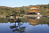 Japan, Kyoto, Kinkaku-ji Temple,  Golden Pavilion