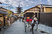 Japan, Kyoto City, Gion, Yasaka Pagoda