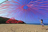 South Korea, Muuido island. Mandatory credit: Installation by Pier Fabre