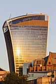 England, London, The City, 20 Fenchurch Street aka The Walkie-talkie Building