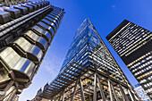 England, London, City of London, Leadenhall Street, The Leadenhall Building aka The Cheesegrater