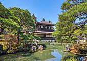 Japan, Kyoto City,Ginkaku-Ji Pavilion