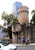 At Jen-Tower, Jena, Thuringia, Eastgermany, Germany