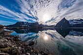 Fjord of Reine, Lofoten Islands, Norway