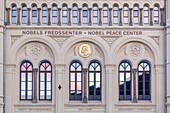 Nobel Peace Prize Centre in oslo, Østlandet, Eastern norway, Norway, Scandinavia, Northern Europe, Europe